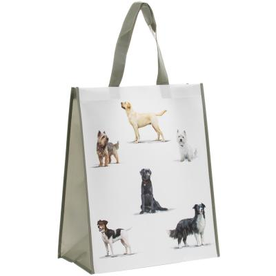 Dog breed shopping bag