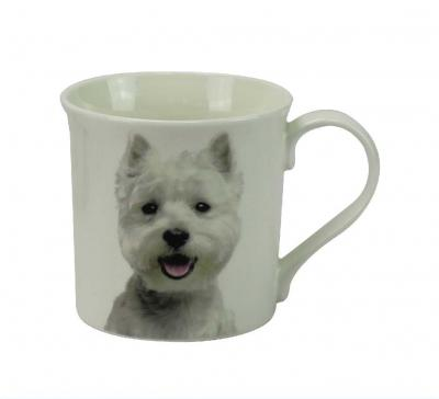 West Highland White Terrier mug dog breed