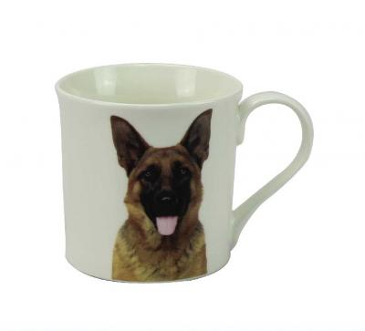 german shepherd mug dog breed