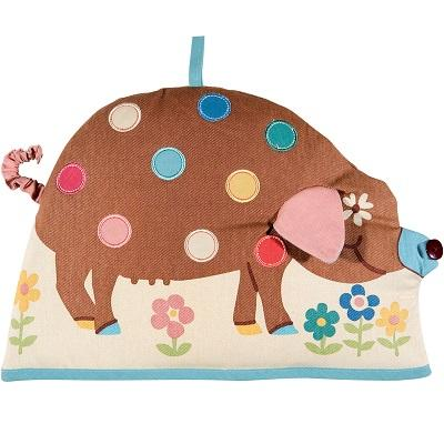 Ulster Weavers Spotty Pig Shaped Tea Cosy
