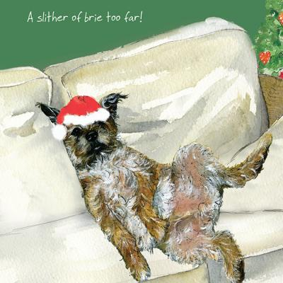 little dog laughed brie christmas card