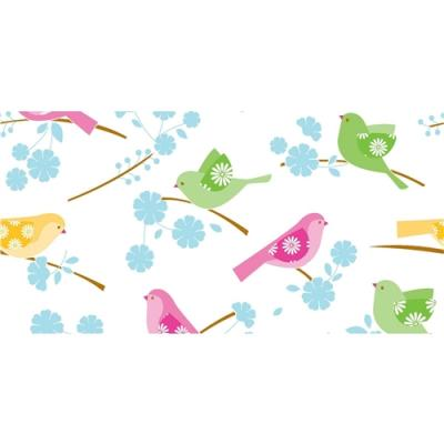 Song birds tissue paper otterhouse