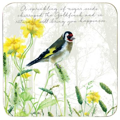 goldfinch coaster little dog laughed anna danielle