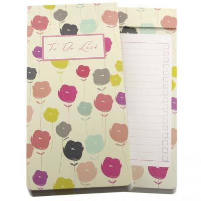 Go Stationery Modern Ditsy Floral To Do Note List