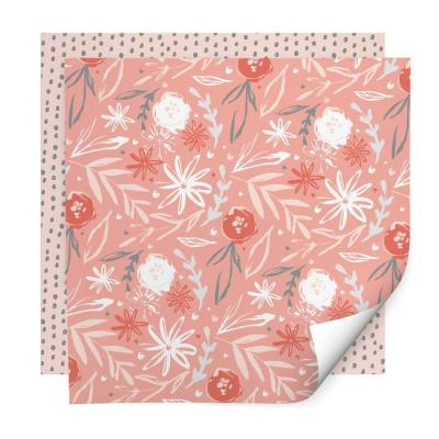 peach passion wrapping paper whistlefish