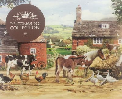 country life tea towel lesser and pavey national animal welfare trust