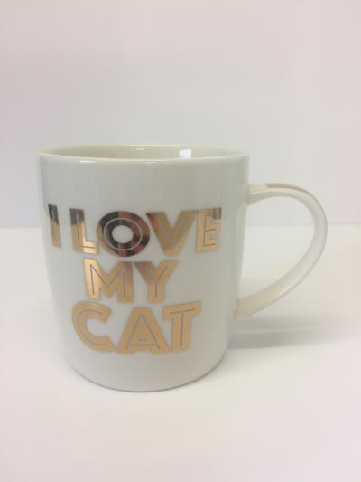 I love my cat mug lesser and pavey national animal welfare trust