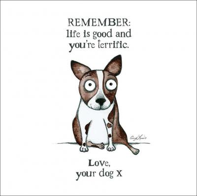 remember life is good card
