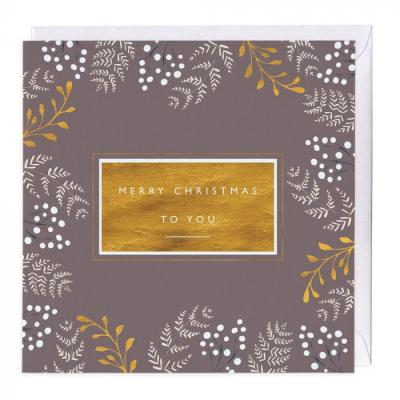 whistlefish merry christmas to you christmas card