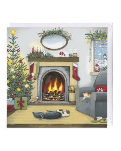 whistlefish nice and warm christmas card